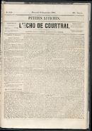 L'echo De Courtrai 1861-09-18