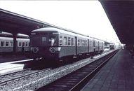 Trein in station