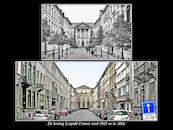 Koning Leopold I-straat 1925 en 2014