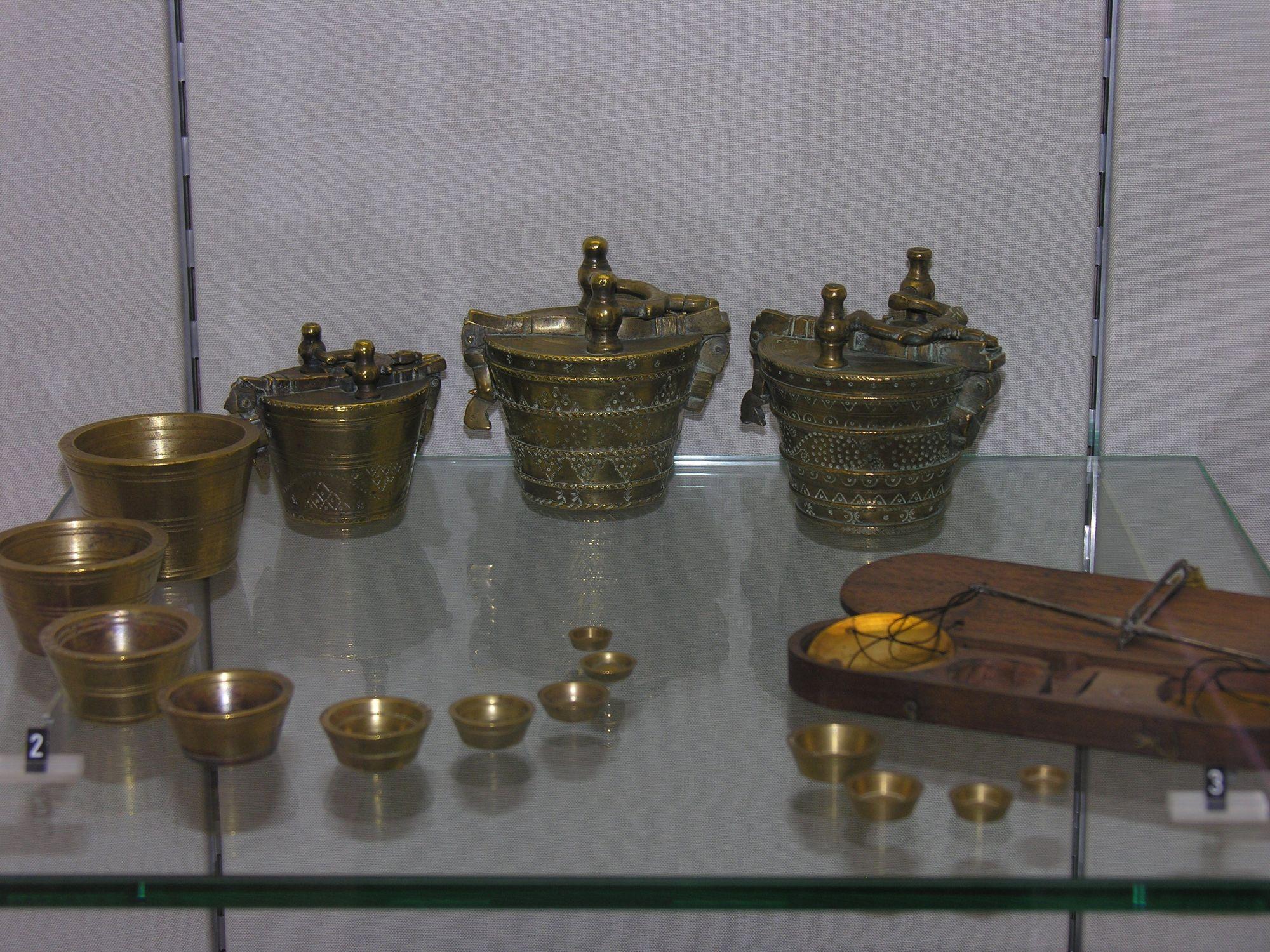 Bronzen gewichten uit de zeventiende eeuw