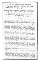 Alphonse-Marcel-Gérard Isaac