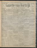 Gazette Van Kortrijk 1909-08-12