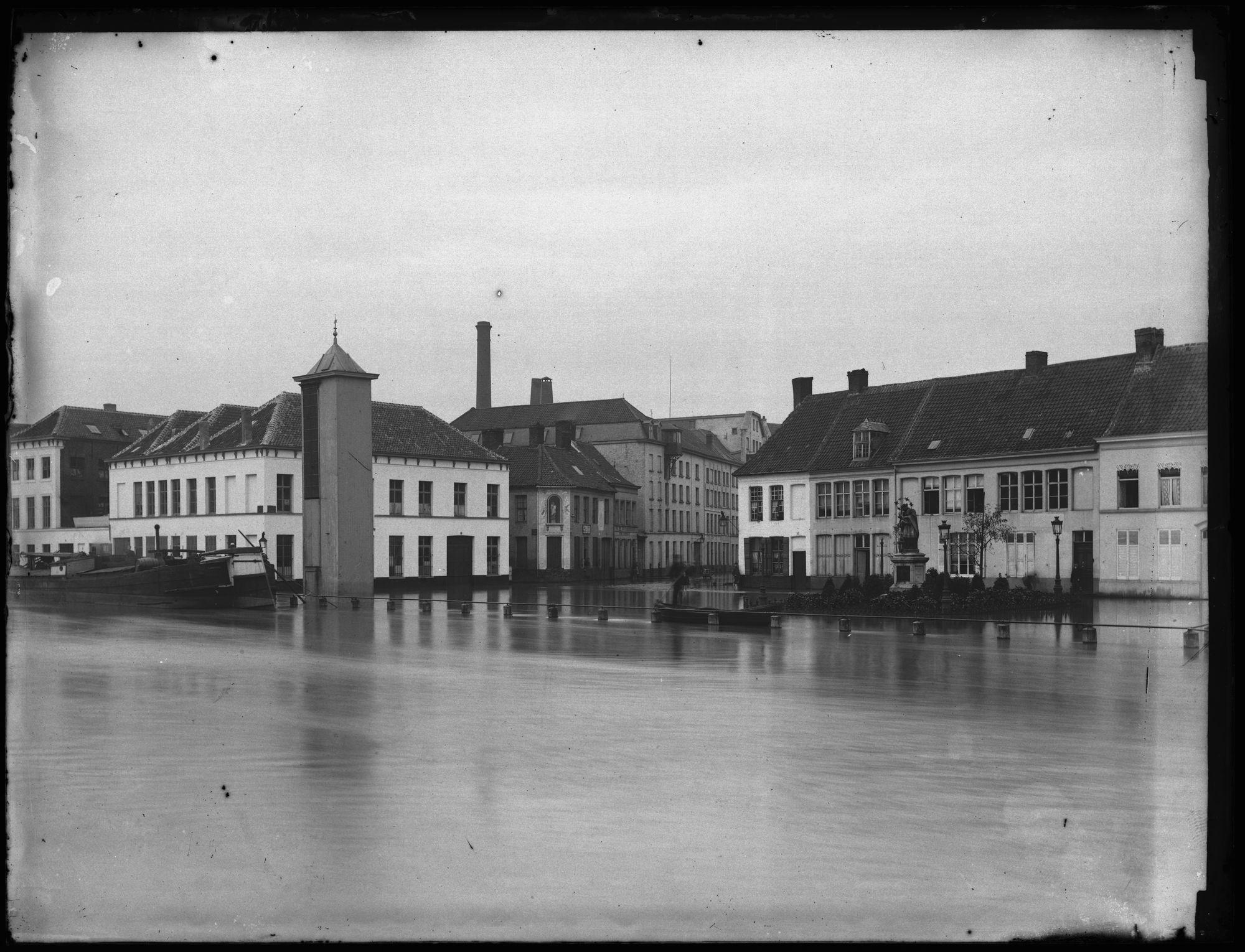 Overstroming van de Leie in 1885