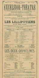 Paasfoor 1891: Excelsior-Théatre