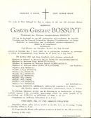 Gaston-Gustave Bossuyt
