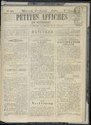 Petites Affiches De Courtrai 1841-07-21
