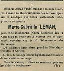 Marie-Gabrielle Leman