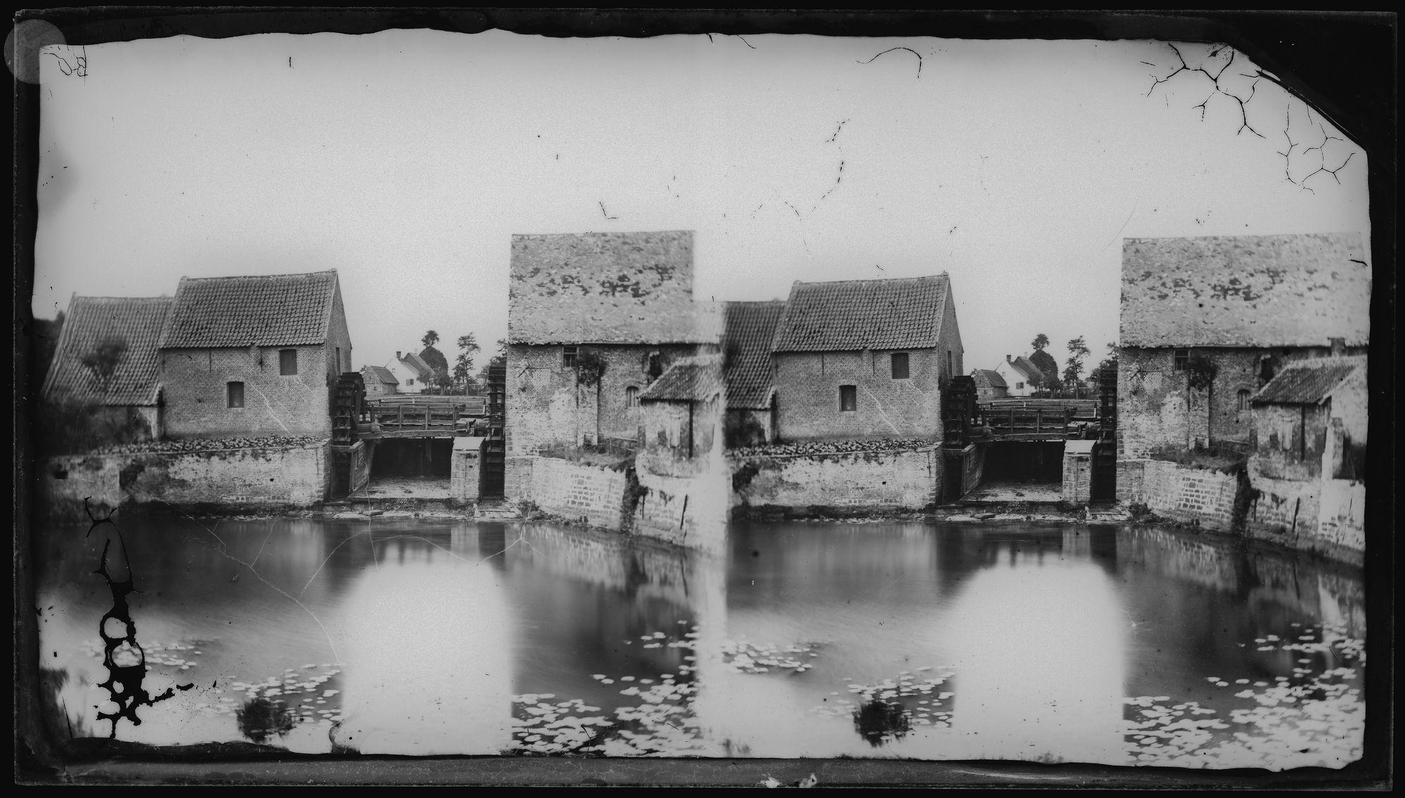 Heule-Watermolen circa 1863