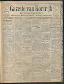 Gazette Van Kortrijk 1909-05-09