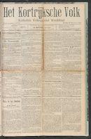 Het Kortrijksche Volk 1910-11-13