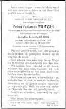 Petrus Fabianus Wilmssen