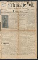 Het Kortrijksche Volk 1914-02-22