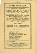 Paasfoor 1911: Cinematograaf van de familie Grandsart