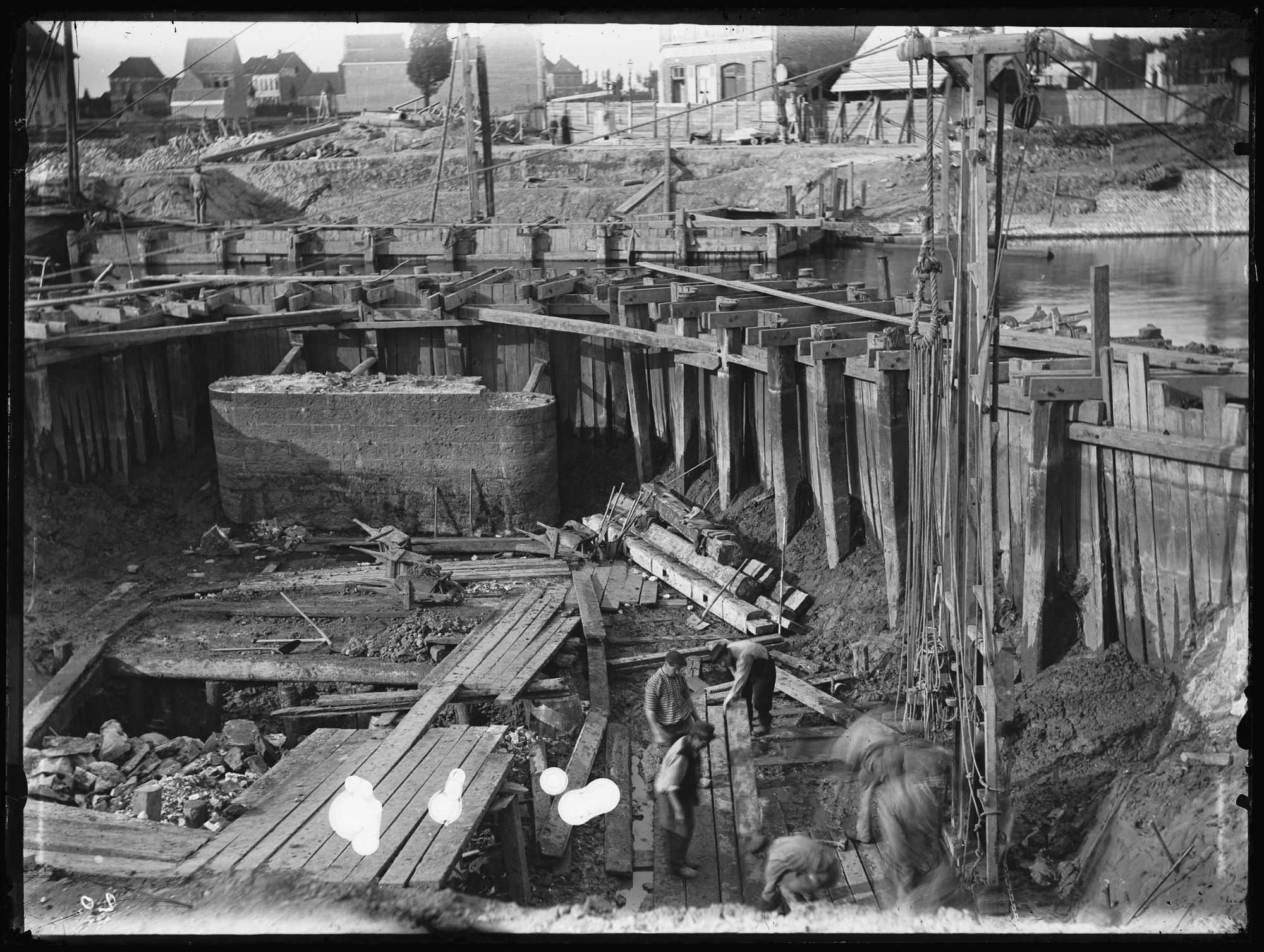Gerechtshofbrug of Noordbrug in 1892