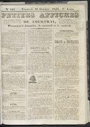 Petites Affiches De Courtrai 1840-10-16