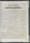 L'echo De Courtrai 1856-01-18