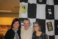 Eline Brulez, Jean Mestdagh en Elke Delefortrie