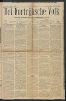 Het Kortrijksche Volk 1922-10-29