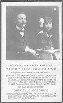 Theophile en Gabrielle Goedhuys