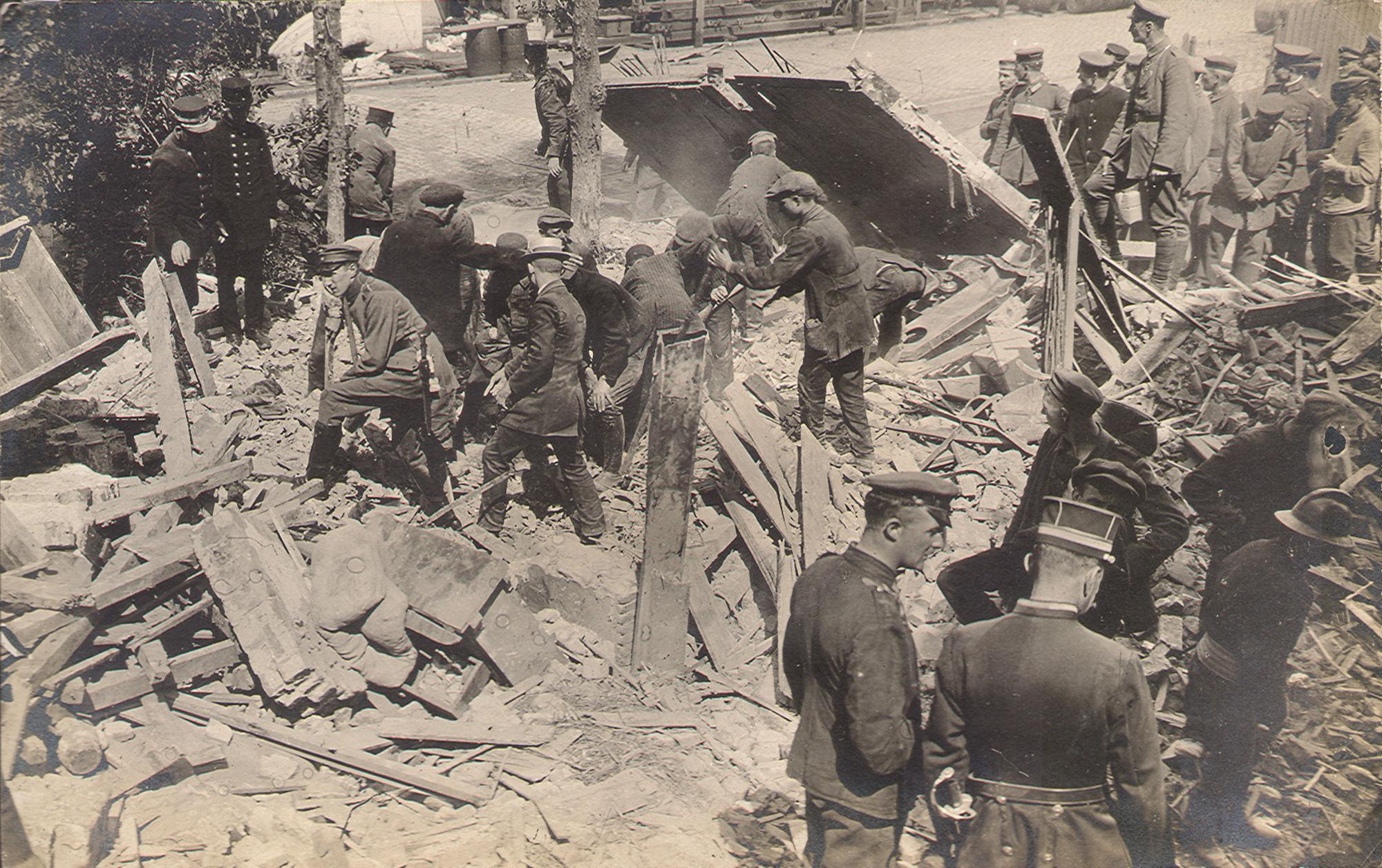 Mosselbank in 1917-18