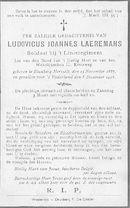 Ludovicus Joannes Laeremans