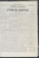 L'echo De Courtrai 1857-03-15
