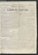 L'echo De Courtrai 1855-01-28