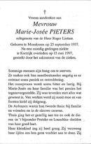 Marie-Josée Pieters