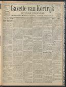 Gazette Van Kortrijk 1909-05-20