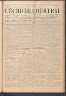 L'echo De Courtrai 1914-07-12 p1