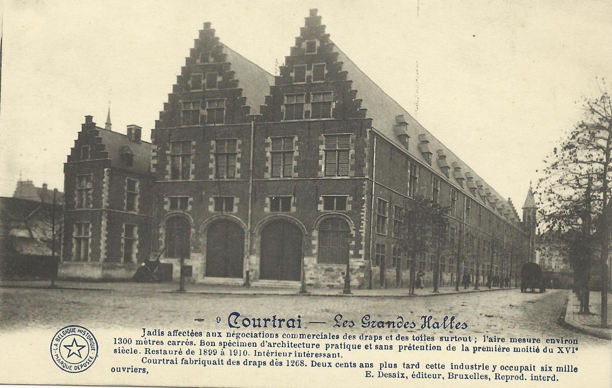 Grote hallen van Kortrijk