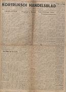 Kortrijksch Handelsblad 13 november 1946 Nr91 p1