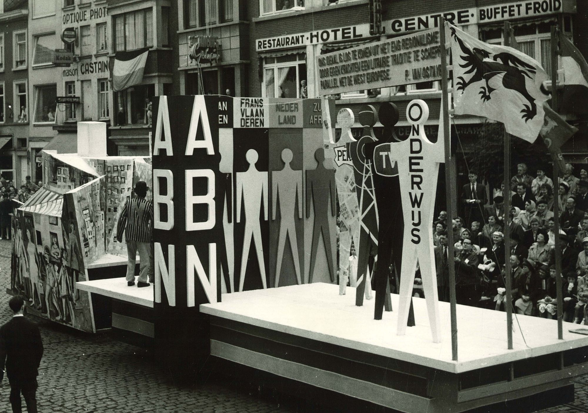 Praalstoet 'De luister der Nederlandse taal'