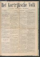 Het Kortrijksche Volk 1907-11-03