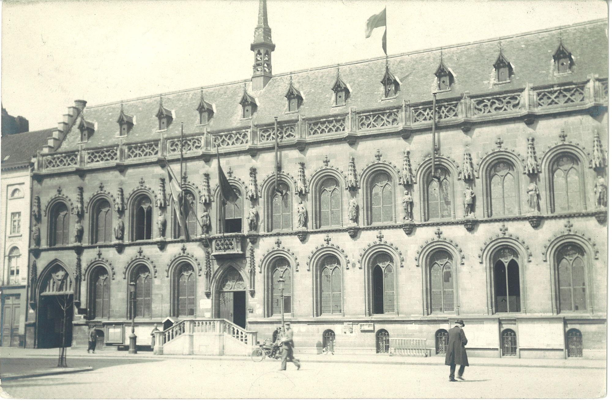 Stadhuis tijdens Wereldoorlog I