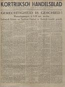 Kortrijksch Handelsblad 24 mei 1945 speciaal nr