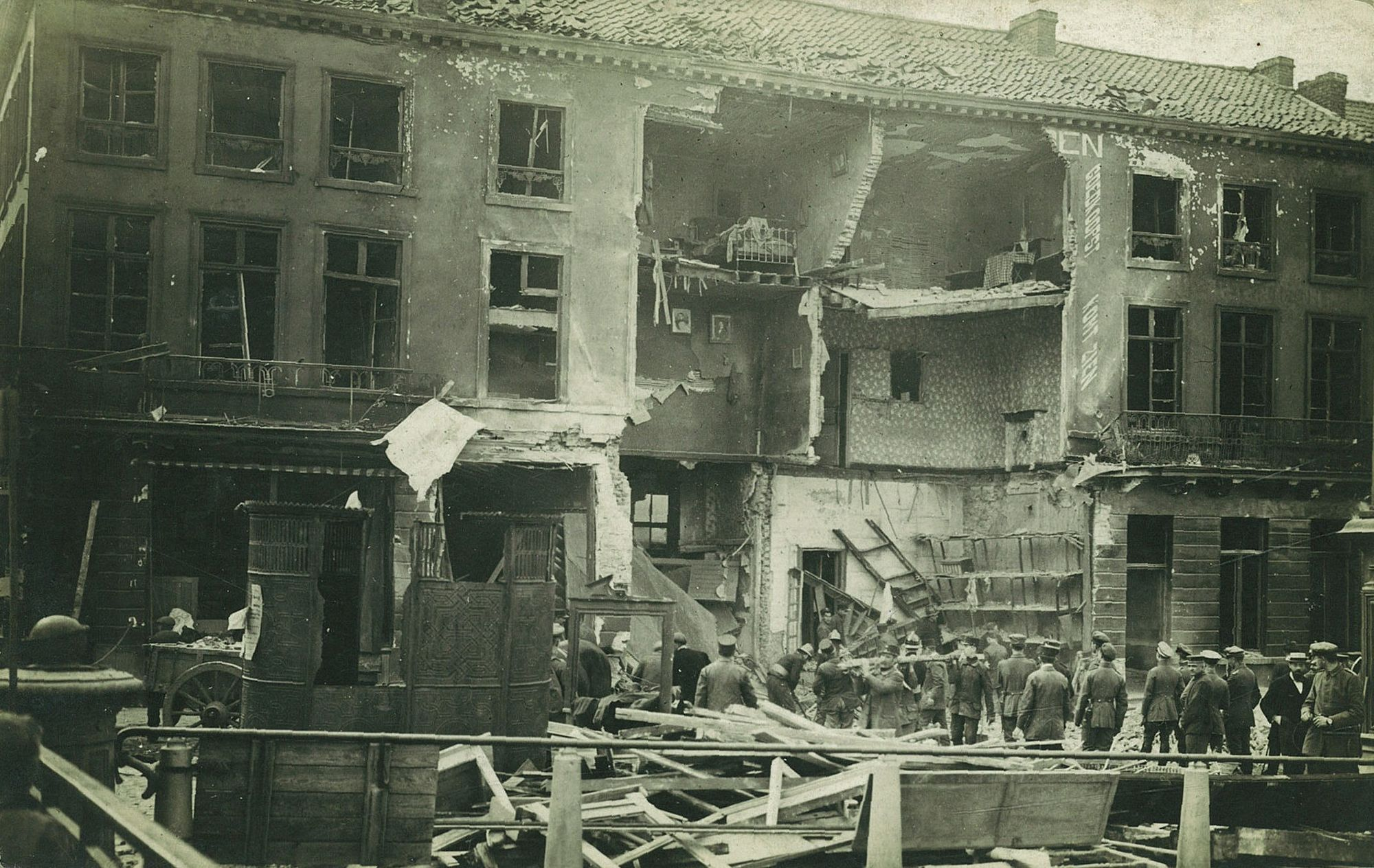Dolfijnkaai in 1917