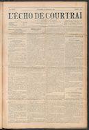 L'echo De Courtrai 1911-09-10
