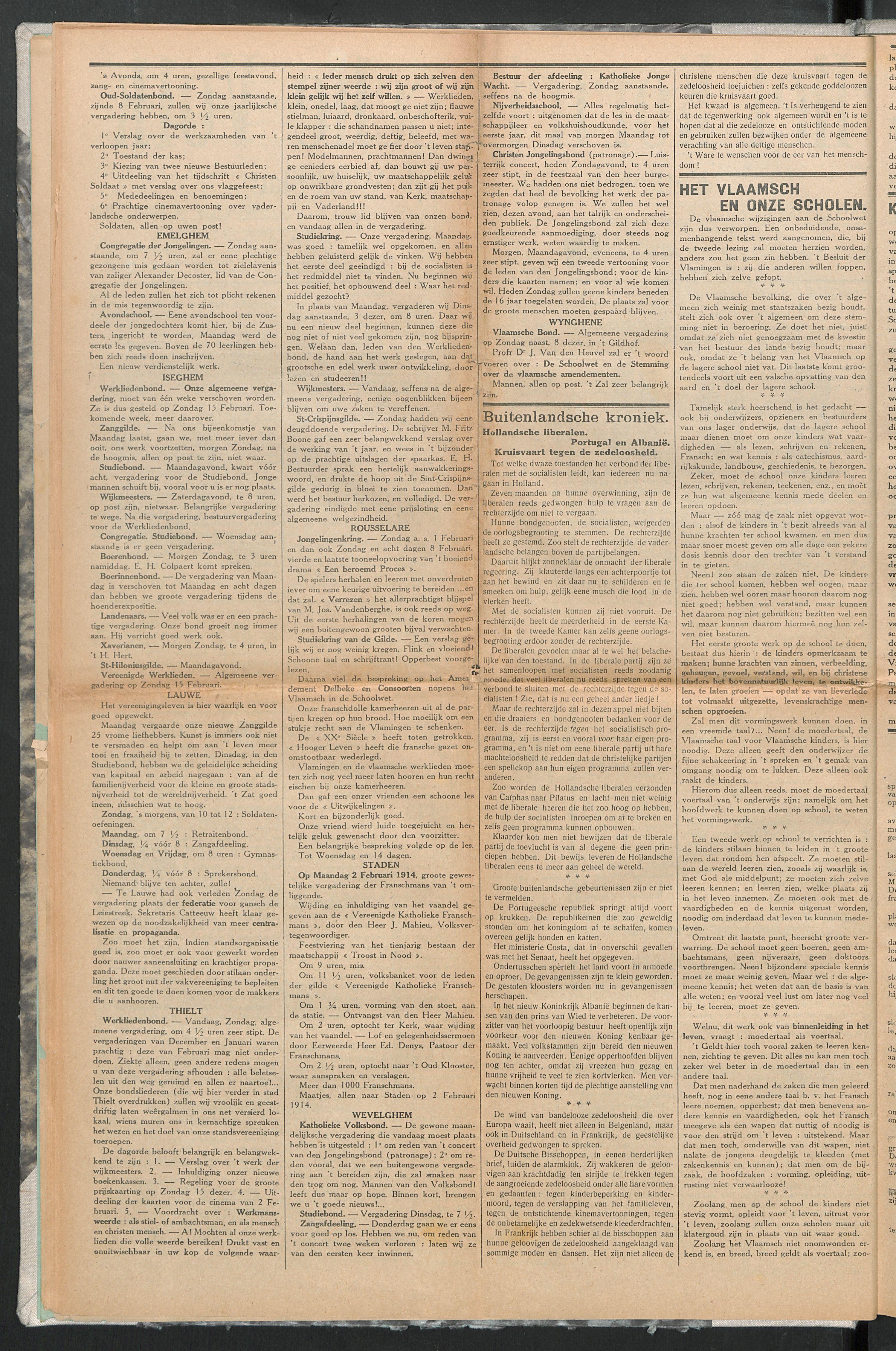 Het Kortrijksche Volk 1914-02-01 p2