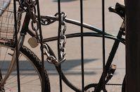 Gesloten fiets