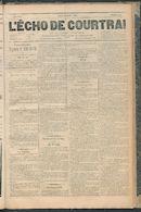 L'echo De Courtrai 1887-07-28