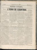 L'echo De Courtrai 1858-11-12