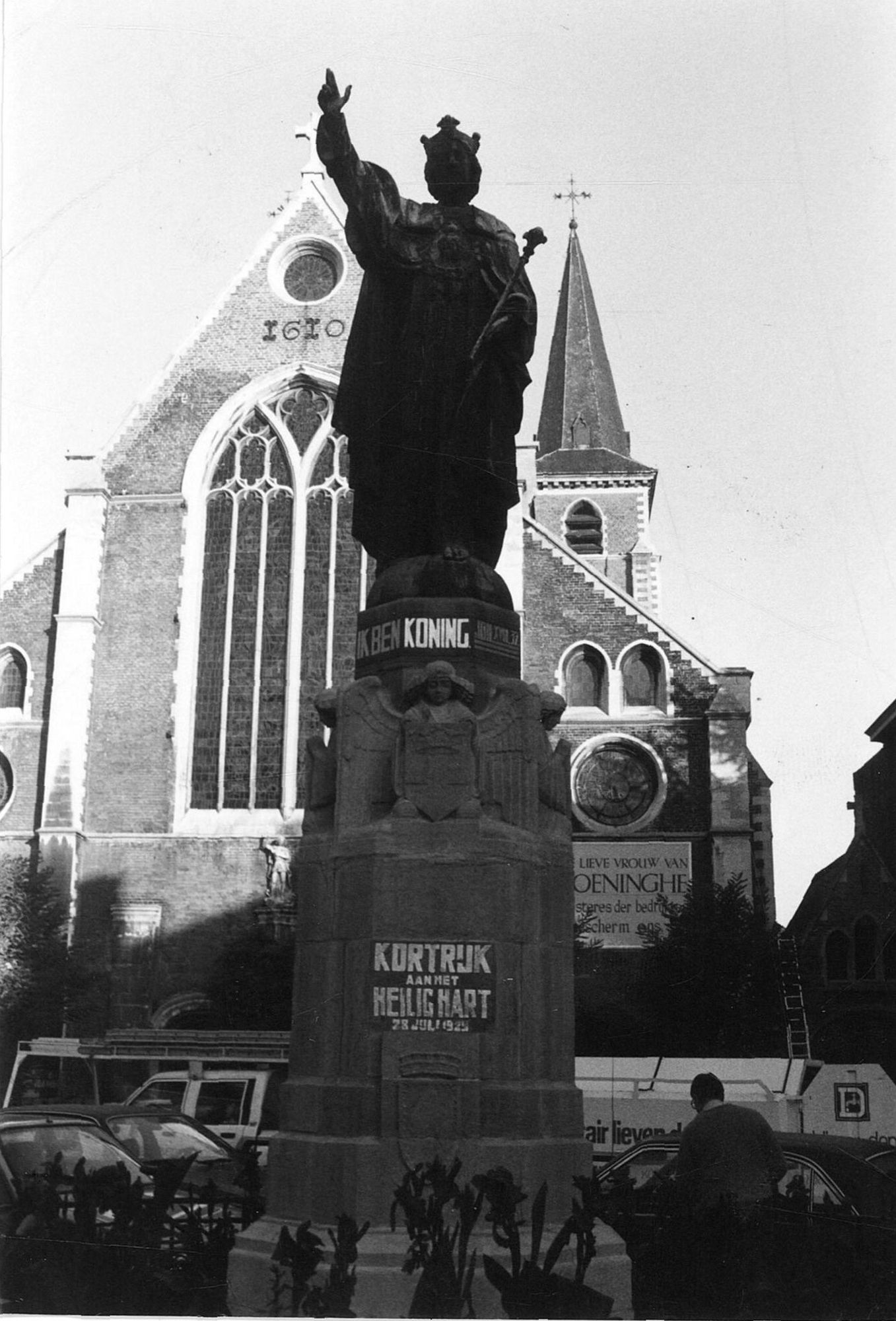 Christus Koning op het Sint-Michielsplein