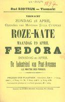 Paasfoor 1897: optreden van Julia Cuypers