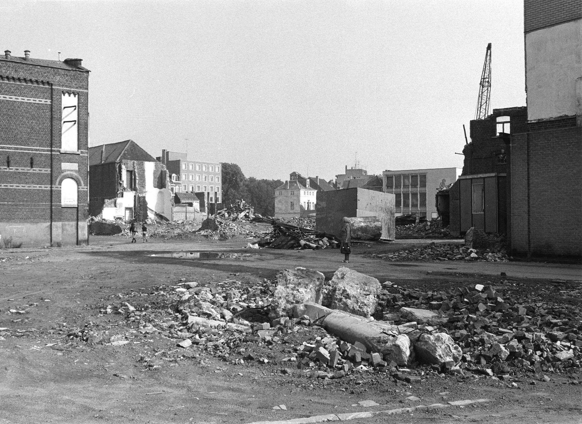 Aanleg Romeinselaan 1976