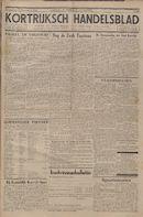 Kortrijksch Handelsblad 27 december 1944 Nr18 p1