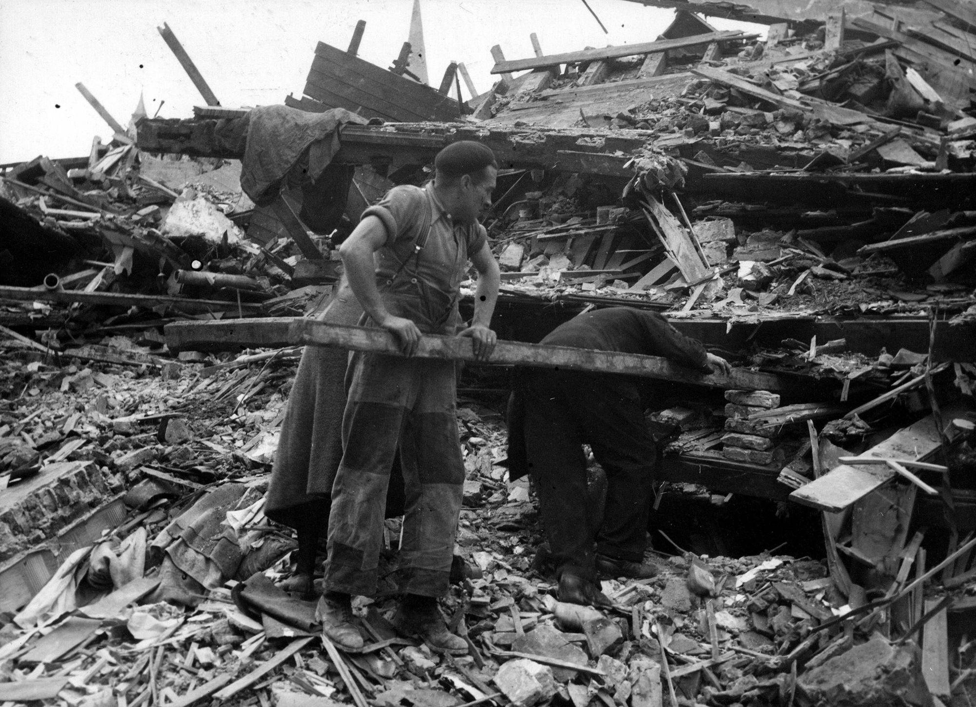 Bombardement 1944