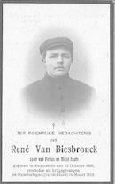 René Van Biesbrouck