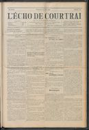 L'echo De Courtrai 1914-06-21