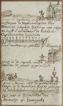 Achttiende-eeuwse kroniek met allerlei gebeurtenissen die plaatsvonden te Kortrijk